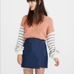Madewell Brand New with tag denim skirt